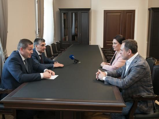 Андрей Бочаров обсудил с Валерием Бондаренко реализацию инвестпроектов