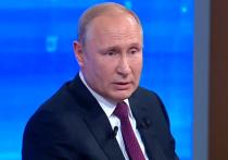 Путин прокомментировал обвинения в оккупации Донбасса