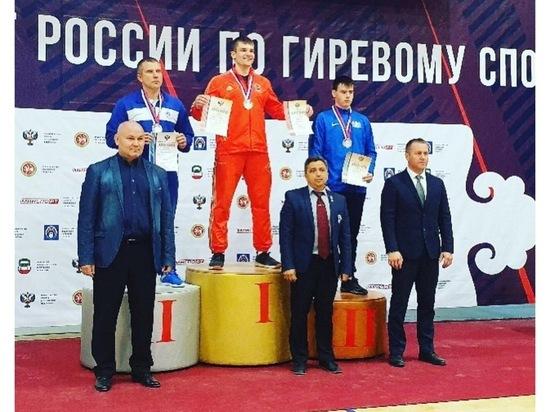 Офицер из Серпухова отправится на чемпионат мира по гиревому спорту