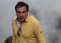 Саакашвили прокомментировал штурм парламента Грузии