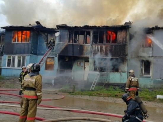 Сгоревшее дотла здание в Ноябрьске оказалось расселенным