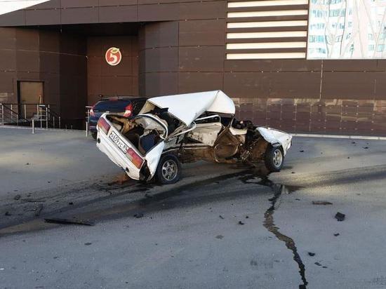 Пять автомобилей разбил пьяный лихач на иномарке в Новом Уренгое