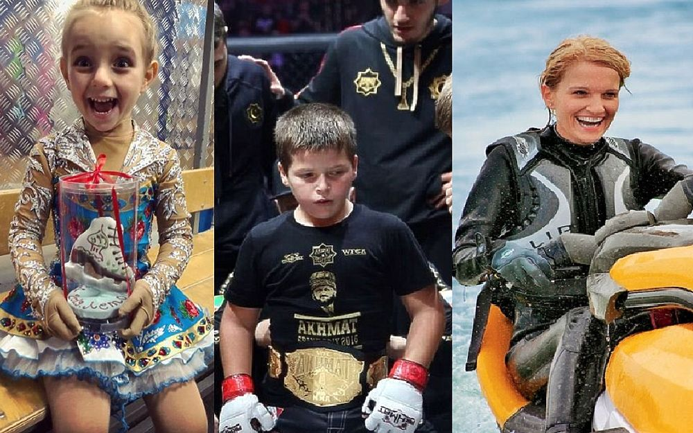 Надя Пескова, Настя Потанина и юные Кадыровы: дети политиков в спорте