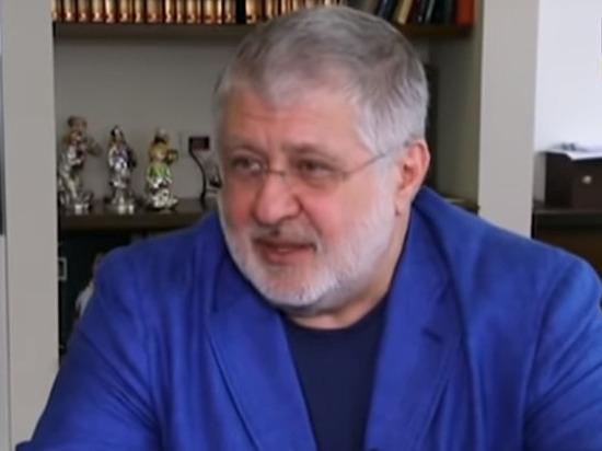 Коломойский согласился покрасить ларек в Донбассе