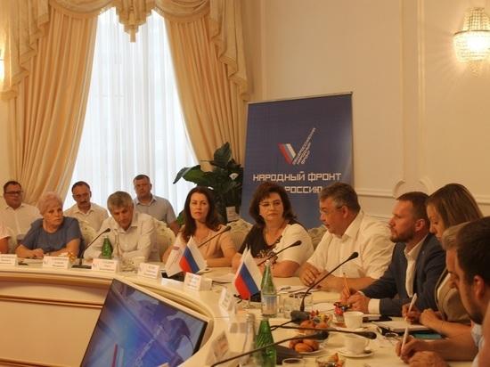 Активисты ОНФ встретились с губернатором Ставрополья