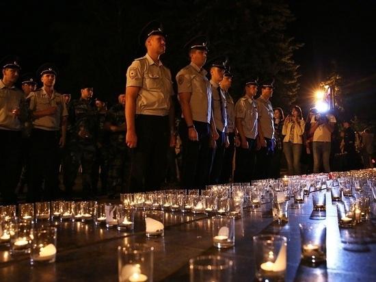 Накануне Дня памяти и скорби в Ставрополе горели тысячи свечей