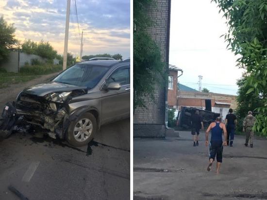 Кузбассовец перевернулся при попытке скрыться с места ДТП
