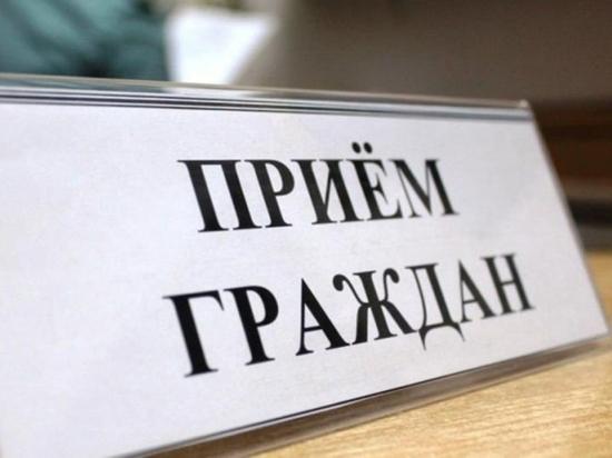 Врио министра ВД Калмыкии проведет прием граждан