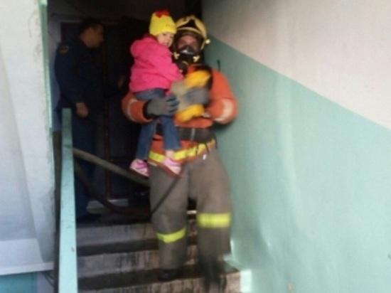 Пожарные в Надыме спасли из огня двух детей