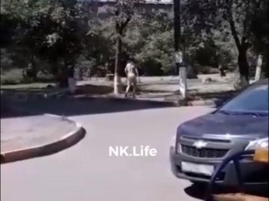Голый крикливый мужчина испугал новокузнечан