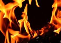 Пожар произошел в Казани на территории поликлиники