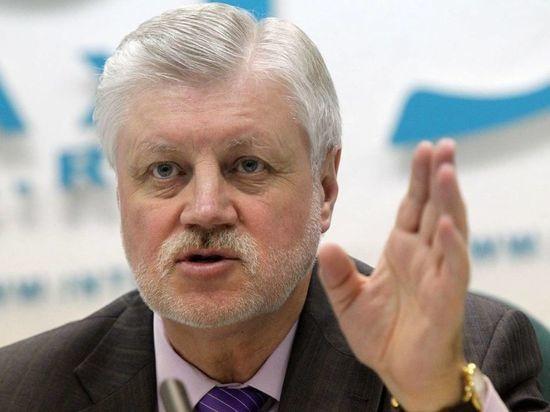 Сергей Миронов попросил ЦИК взять под контроль выборы в Петербурге