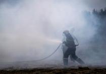 В Тверской области мужчина неправильно топил баню, и она загорелась