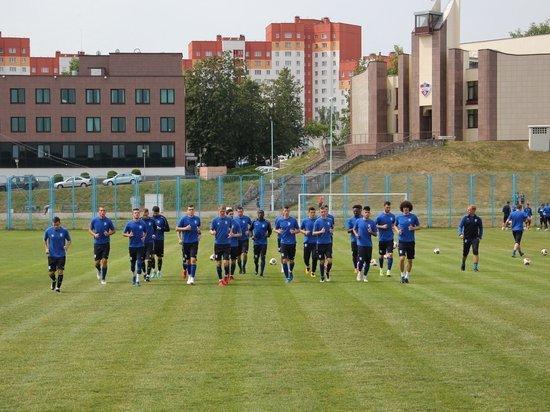Футболисты «Балтики» будут тренироваться под присмотром смарфонов