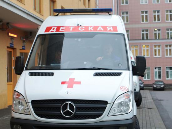 В Москве госпитализирован ребенок, на которого с высоты рухнула мать