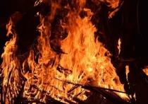 В Рославльском районе сгорели дачный дом и теплица