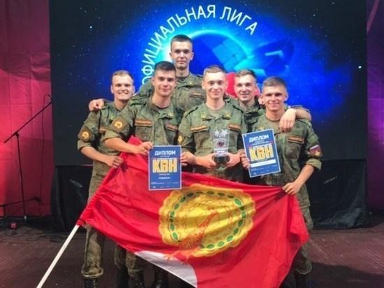 Курсантов из Серпухова отметили на летнем музыкальном кубке КВН