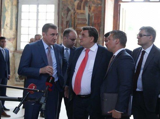Чуйченко: не зря было принято решение профинансировать Музейный квартал в Туле