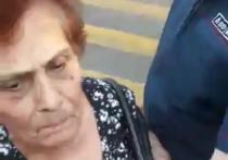 На митинге в поддержку сестер Хачатурян задержали их бабушку