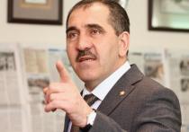 Глава Ингушетии Юнус-Бек Евкуров в телеобращении объявил о намерении добровольно уйти в отставку