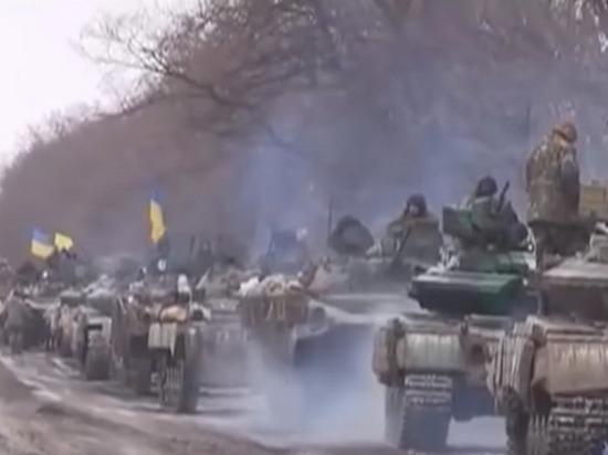 НМЛНР: ВСУ «спрятали» бронетехнику ипушки вблизи жилых домов вНовотошковском