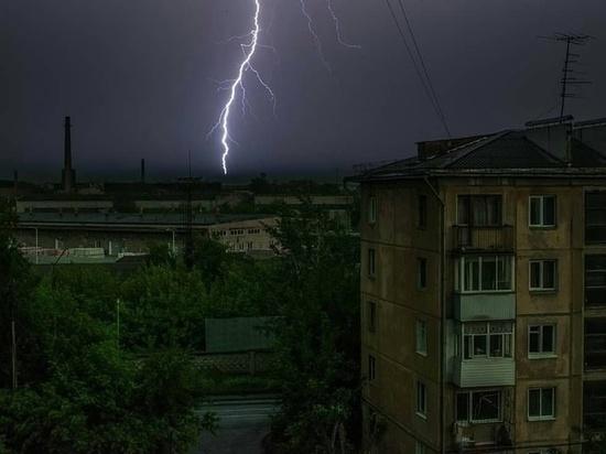 Ливни и грозы задержатся в Красноярске еще на сутки