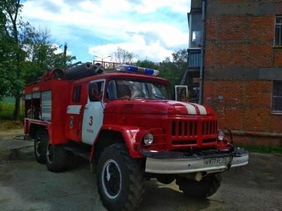 В Туле в пожаре на ул. Шухова погибла пенсионерка