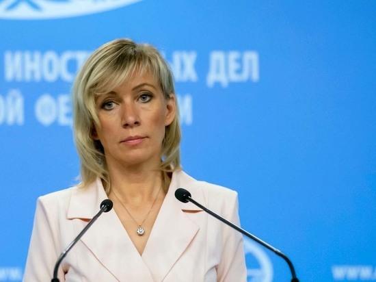 Захарова сравнила украинских политиков с отарой овец