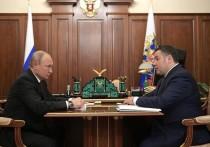 Игорь Руденя рассказал Президенту о водном туризме, центре Твери и рождаемости