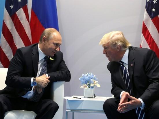 Путин и Трамп нашли темы для беседы