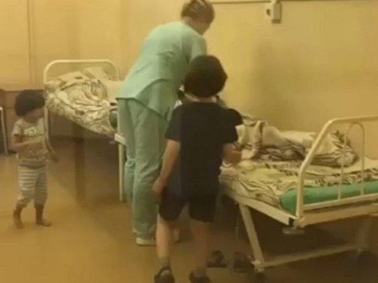 В московской больнице медсестра ударила сироту и привязала к кровати