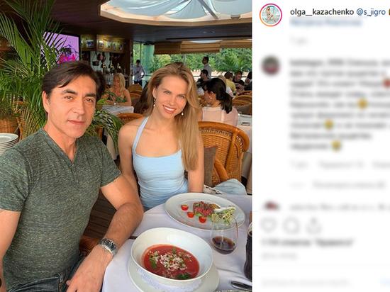 Бывшая жена Казаченко сходила на свидание с пасынком Джигарханяна