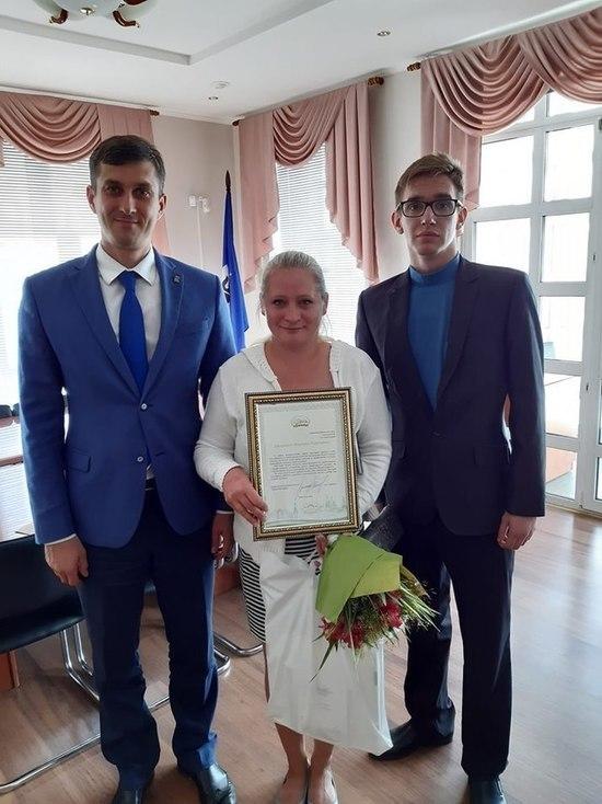 В Ярославле наградили отзывчивого кондуктора