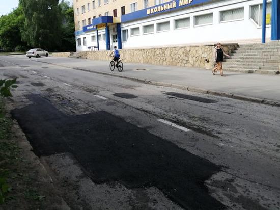 Более 100 участков дорожного полотна в Липецке привели в порядок