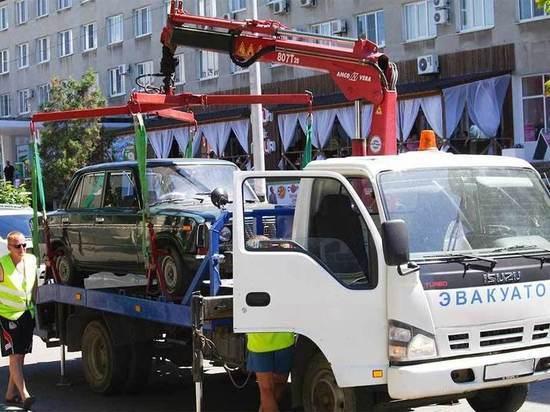 В Калининграде эвакуаторы начнут работать ещё на двух улицах