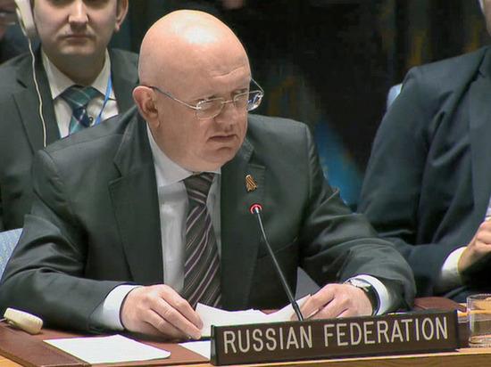 Небензя призвал Совбез ООН не распространять непроверенную информацию по Сирии