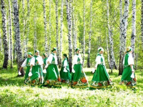 В Лесном прошел «Березовый хоровод»