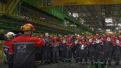 Нижегородские металлурги спели «Поворот» в честь юбилея «Машины времени»