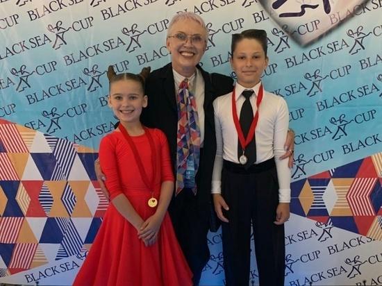 Юные серпуховичи стали лучшими на всероссийском турнире по танцевальному спорту