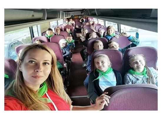 Дети из Серпухова бесплатно отправились в оздоровительные лагеря