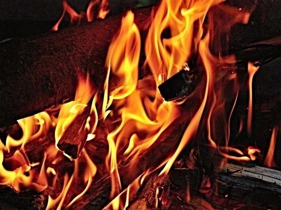 Обманутый дольщик устроил пожар у Минстроя