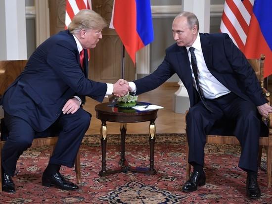 Путин и Трамп собрались час общаться за столом