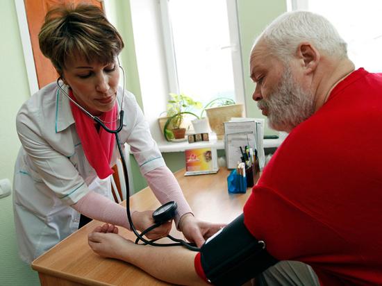 Половина россиян старшего возраста страдает гипертонией