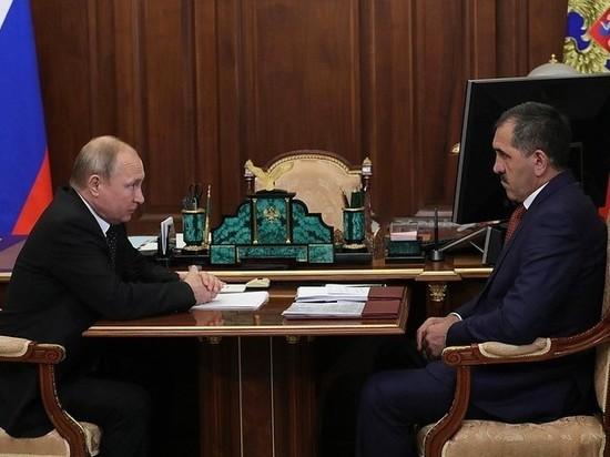 Врио главы Ингушетии назначен бывший прокурор Махмуд-Али Калиматов