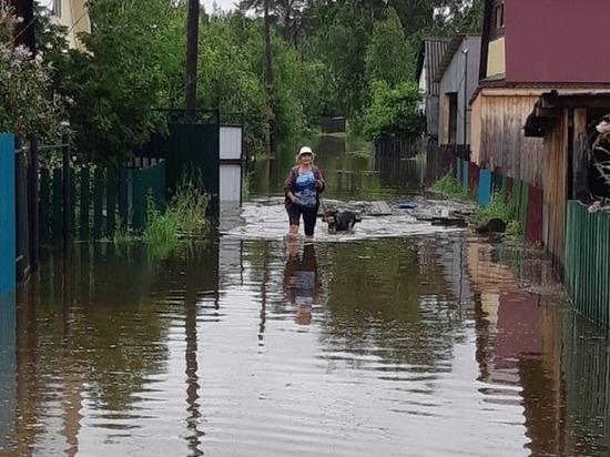 600 домов подтоплены в Иркутской области из-за паводка