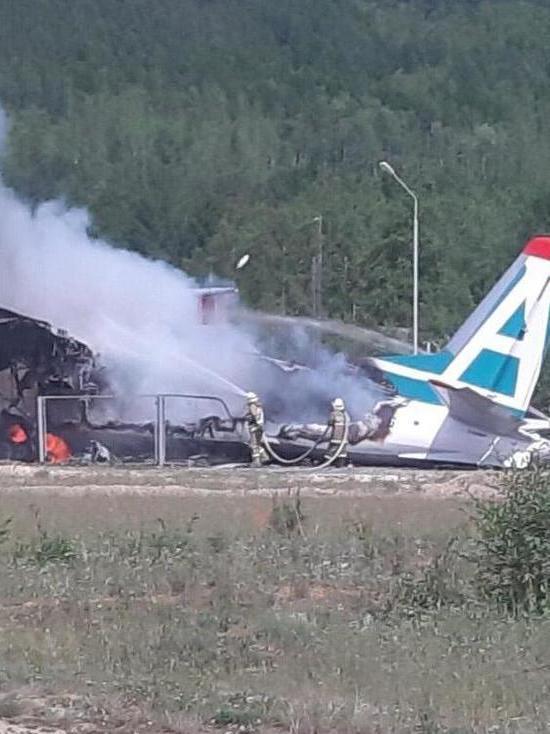 Авиакатастрофа в Бурятии: в МЧС уточнили о выживших и погибших