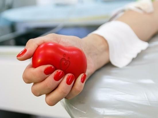 Жители Краснодарского края сдали почти две тонны крови