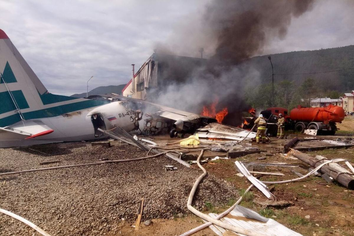 Пилот сгоревшего Ан-24 отказался лететь в последний момент