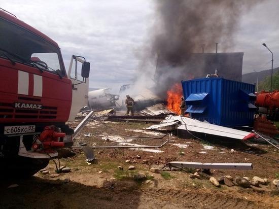 Названа возможная причина катастрофы АН-24 в Бурятии
