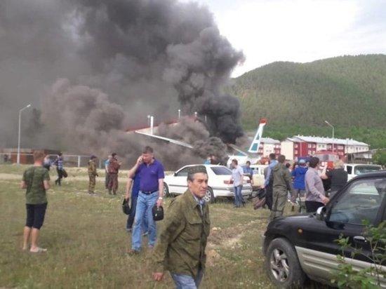 Пассажирка разбившегося Ан-24 рассказала о панике на борту